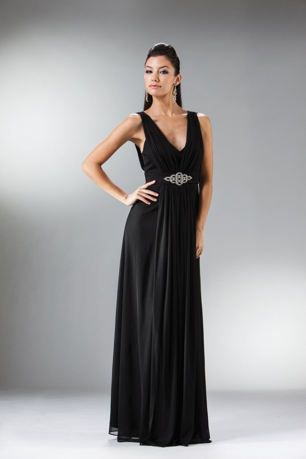 Chiffon Sheath Dress