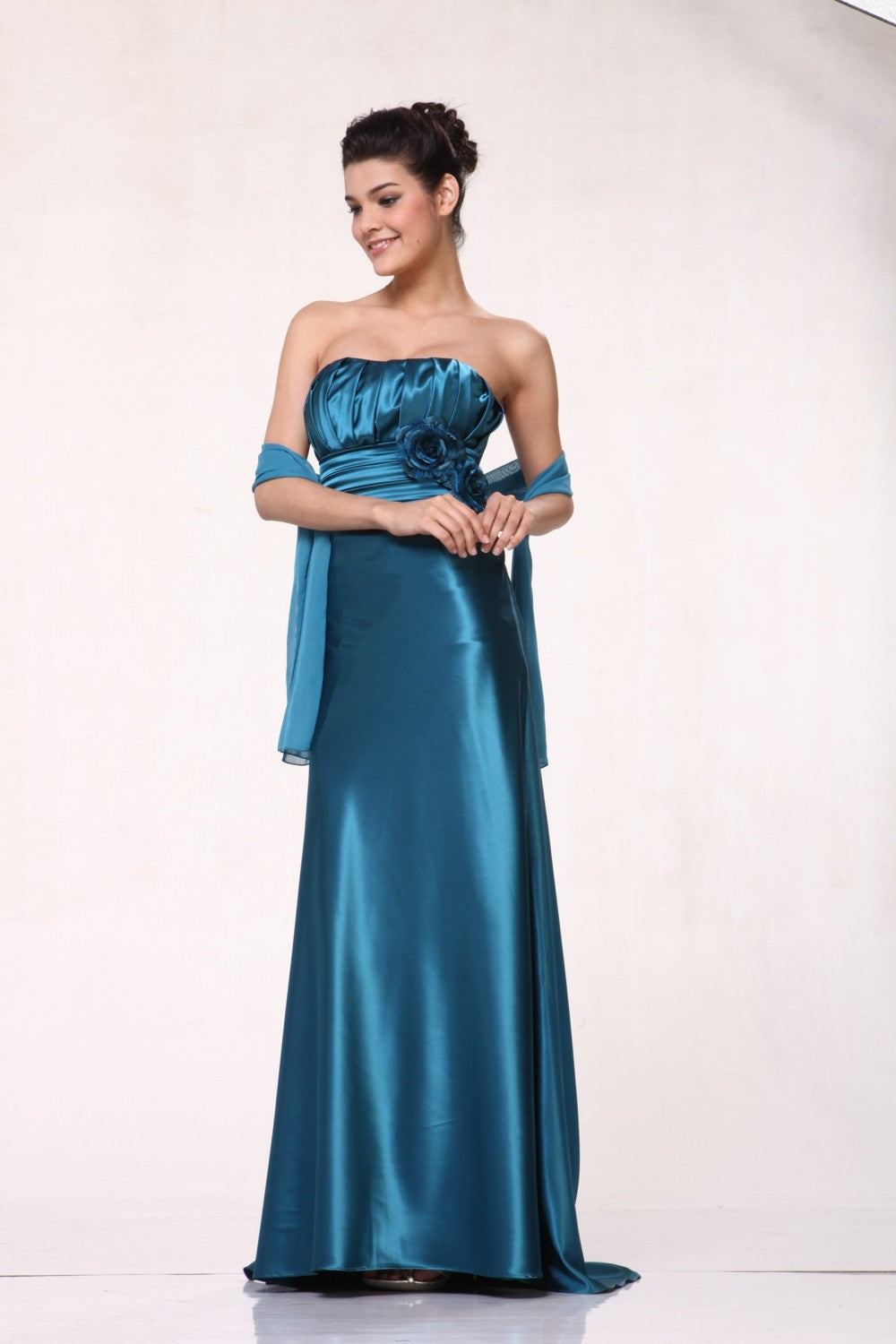 Satin Sheath Dress