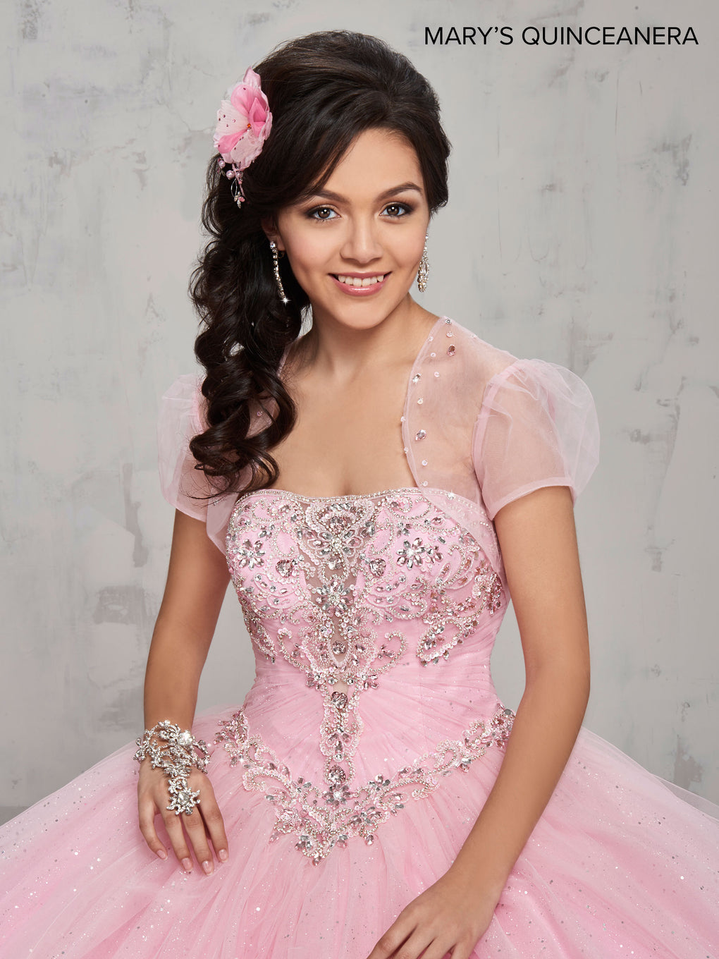 Marys Quinceanera Dresses in Pink, Lilac, Light Blue, or White Color