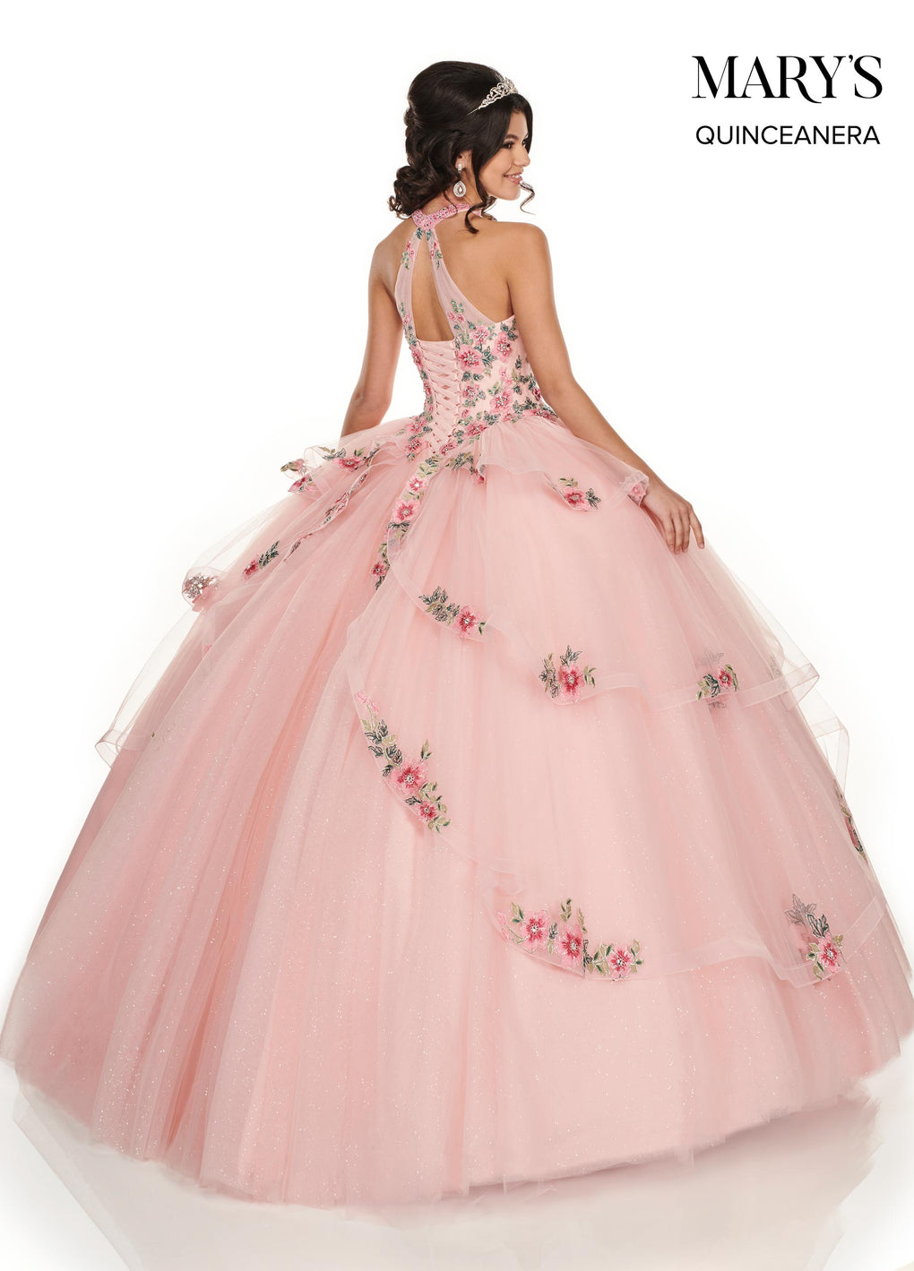 Marys Quinceanera Dresses in Baby Pink/Multi or Lilac Color