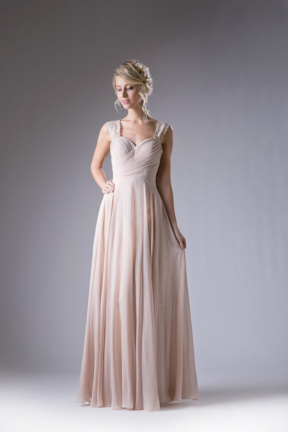 Chiffon Empire Waist Dress