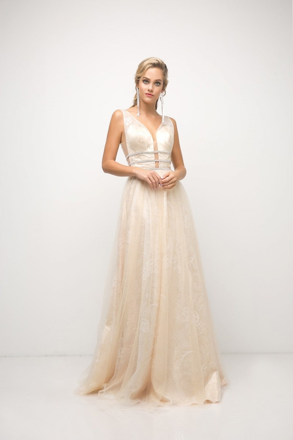 Novelty A - Line Gown