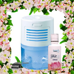Mini Breezer with USB Cable & 100ml Thai Lotus Essence by CareforAir
