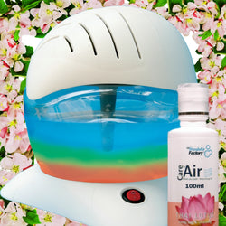 Air Purifier CareforAir Rainbow Breezer with 100ml Thai Lotus Essence