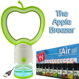 Apple Breezer with 10x10ml Assorted Essences Worth £24.99 by CareforAir *FREE Postage* - CareforAir UK