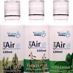Eucalyptus, Clary Sage, Peppermint 100ml Special Offer - CareforAir UK