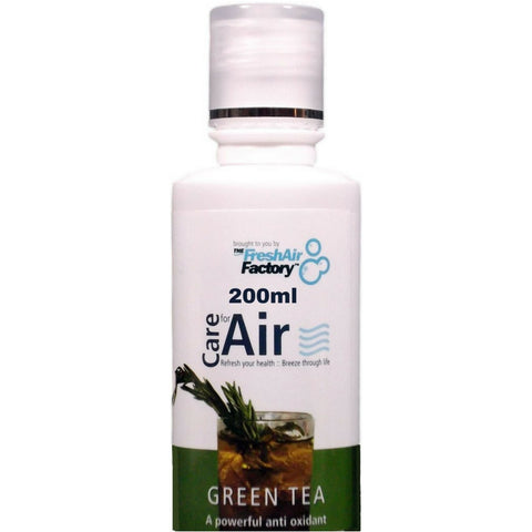 Green Tea Aromatherapeutic Essence (200ml) - CareforAir UK