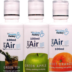 Green Tea, Green Apple, Sweet Orange 100ml Special Offer - CareforAir UK