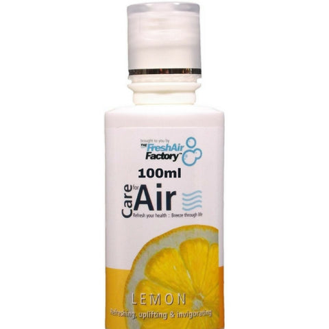 Lemon Aromatherapeutic Essence (100ml) - CareforAir UK