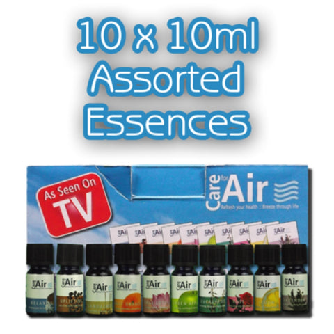 CareforAir Assorted Essences 10x10ml - CareforAir UK