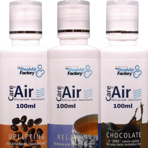 Uplifting, Relaxing, Chocolate 100ml Special Offer - CareforAir UK
