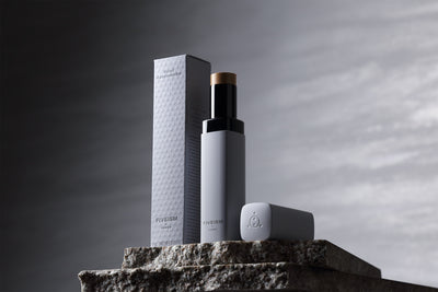 Yuta Takahashi, Product and Packaging design for a men's cosmetics brand FIVEISM x THREE.