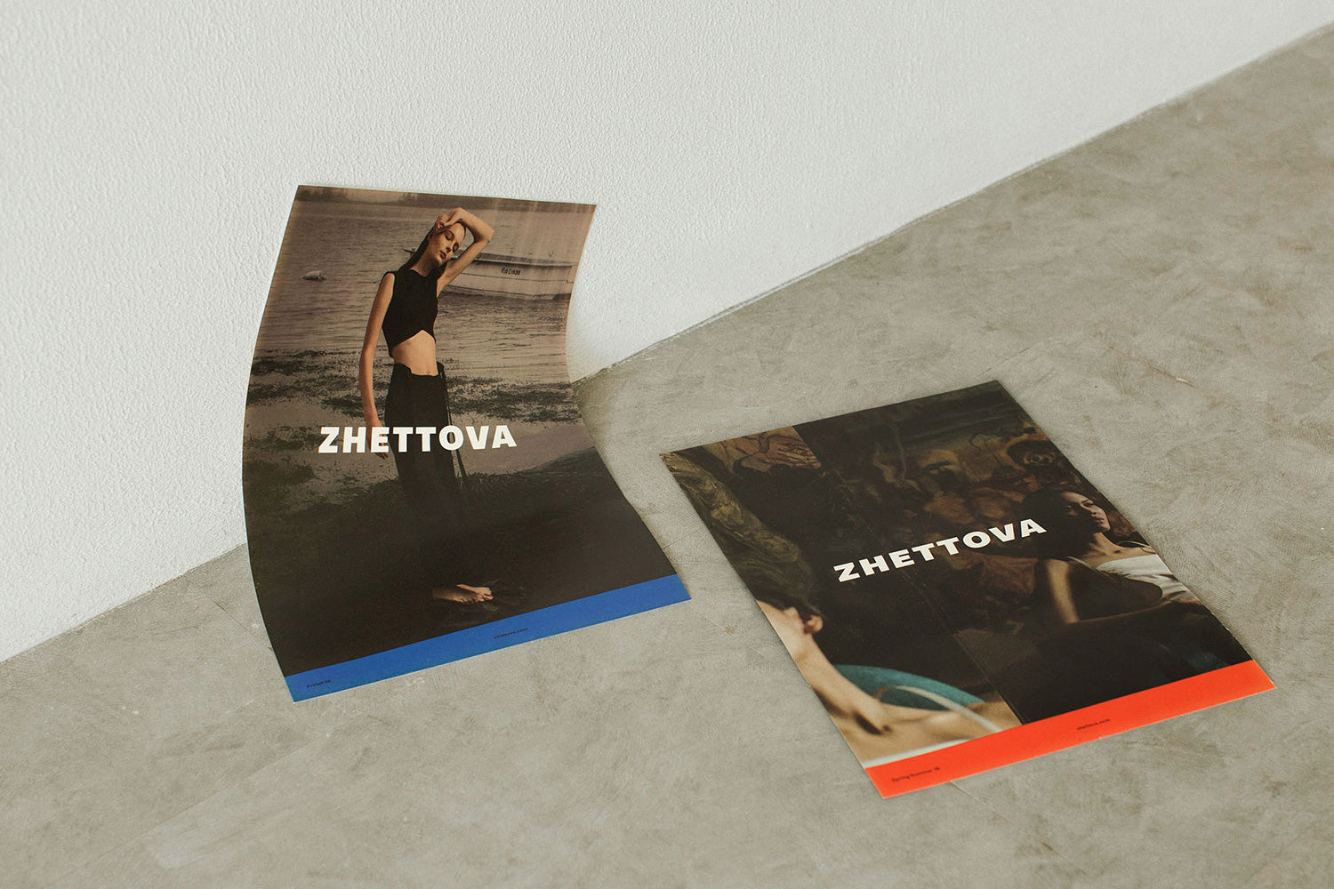 CONTEMPT: Lookbook and  ad campaign for ZHETTOVA