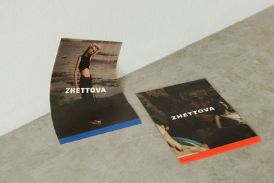 CONTEMPT, Lookbook and  ad campaign for ZHETTOVA