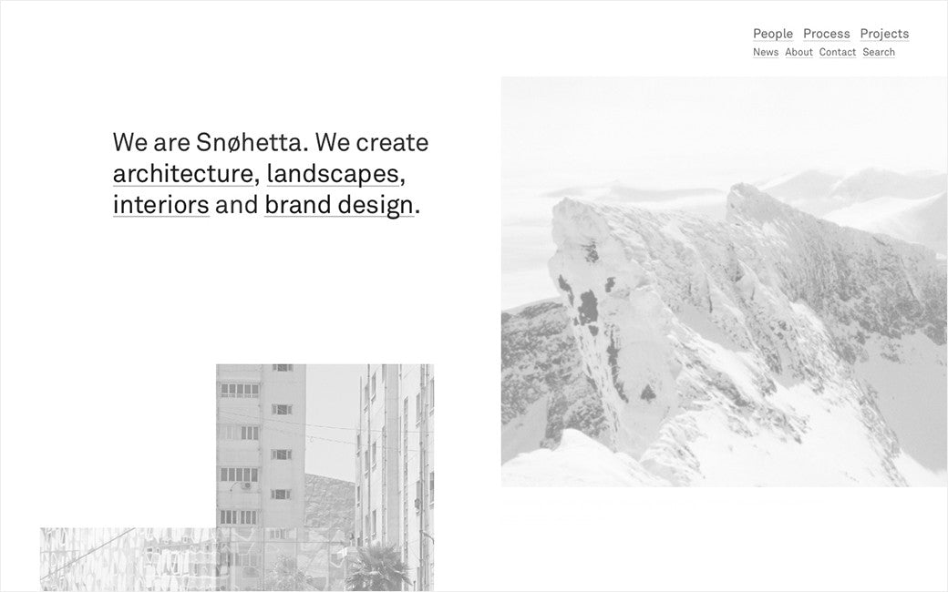 Snøhetta: New website