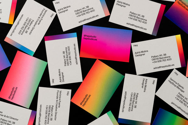 Hey: Hey business cards
