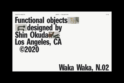 Waka Waka, Collection N.02: An Interactive Catalogue