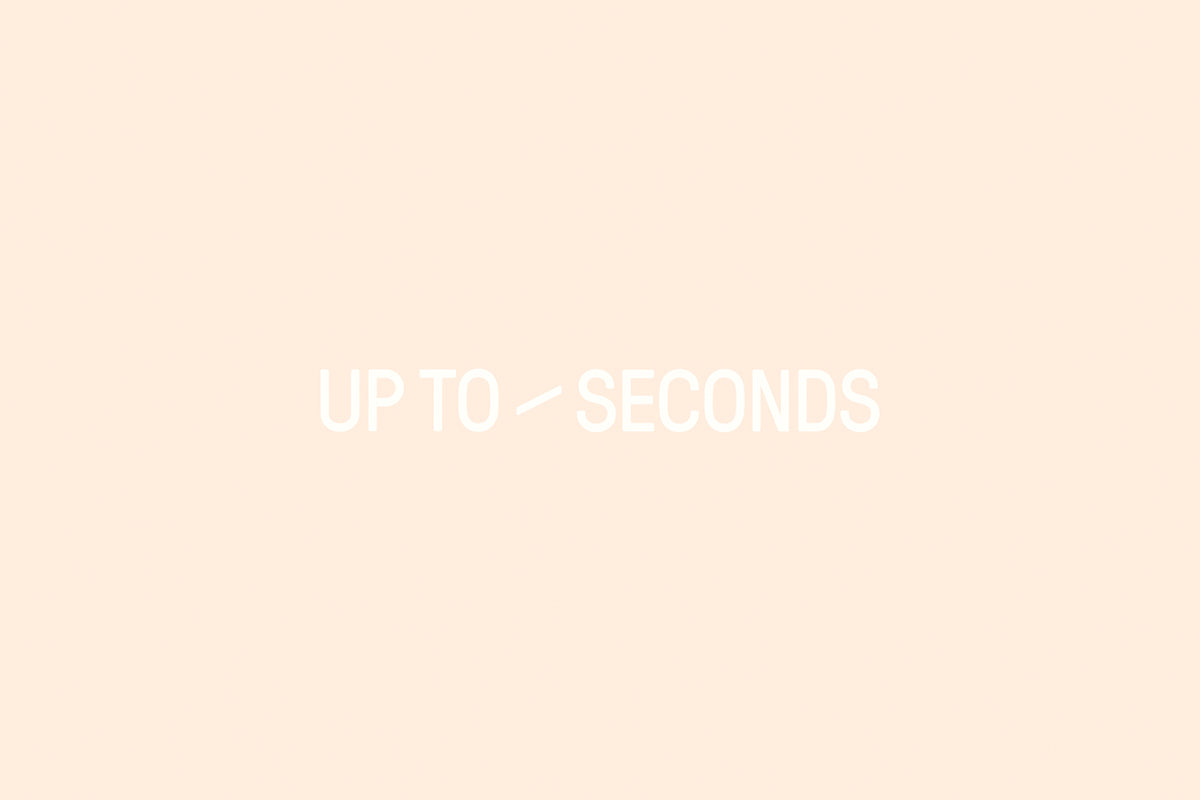 Ray Dao: Up to Seconds