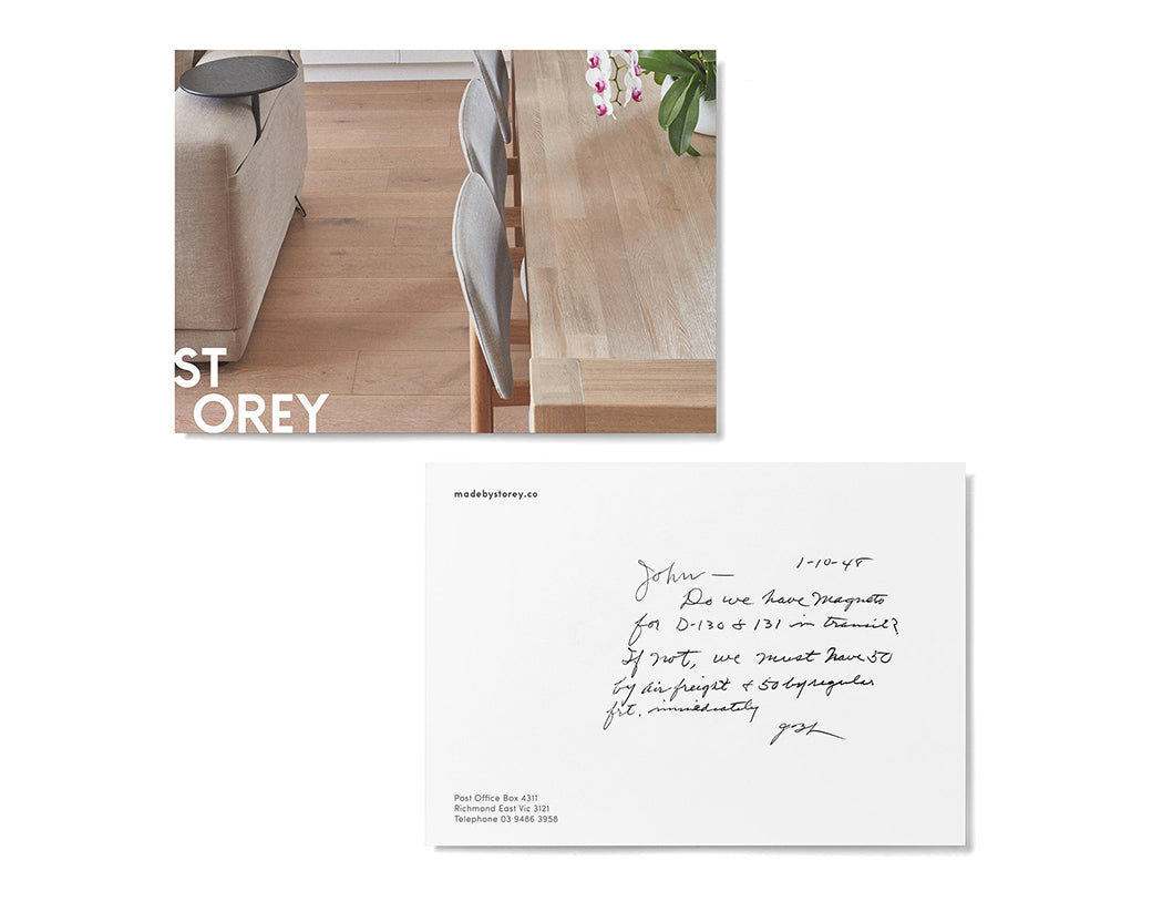 The Company You Keep: Storey Floors
