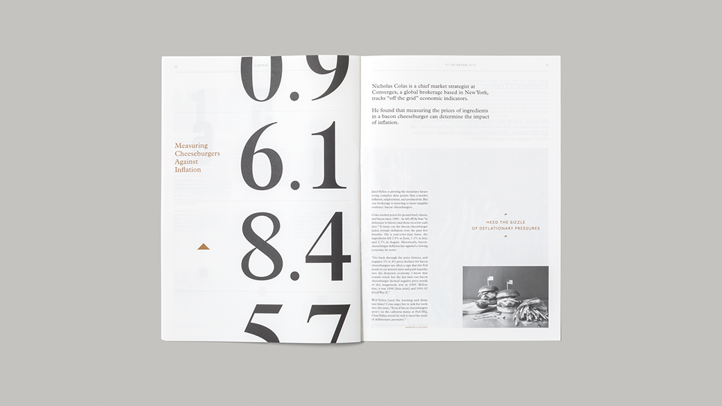 SocioDesign: Capital Magazine
