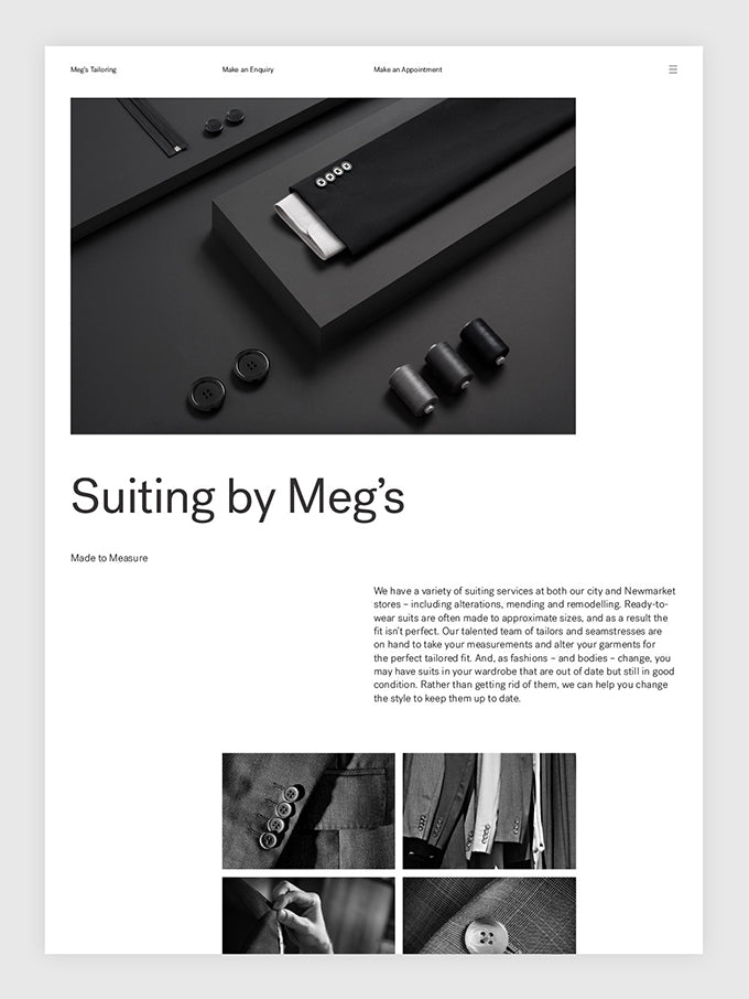 South: Meg's Tailoring