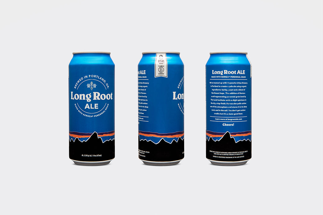 Hype Type Studio: Patagonia Long Root Ale