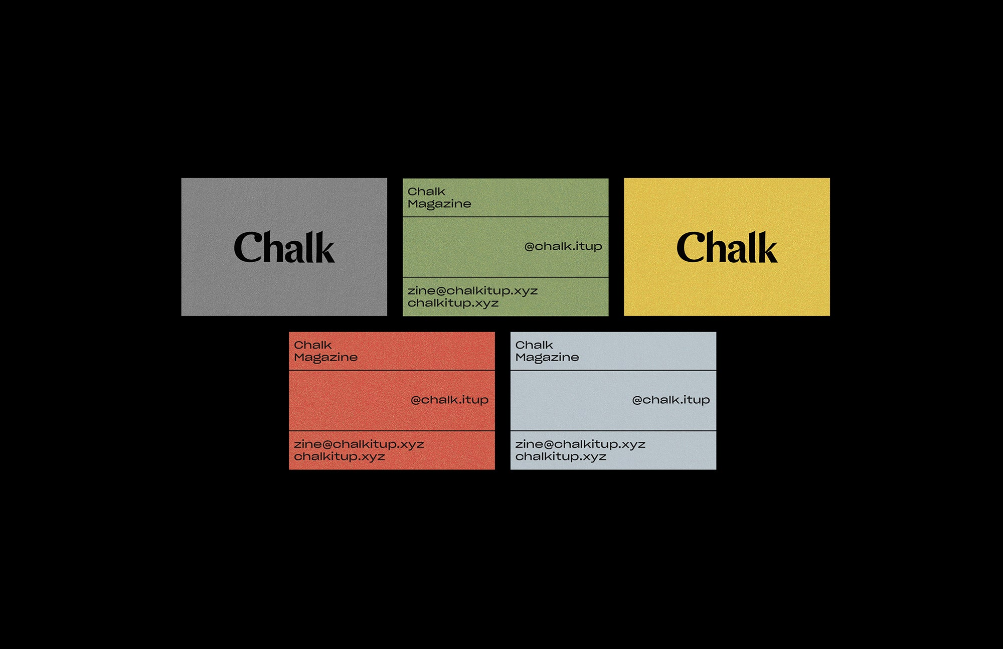 Tim Semple: Chalk