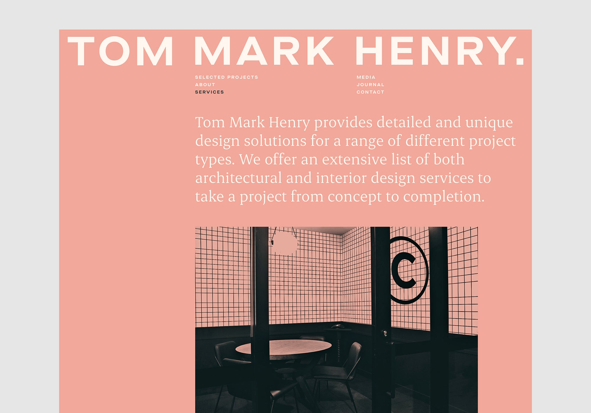 Christopher Doyle & Co: TomMarkHenry