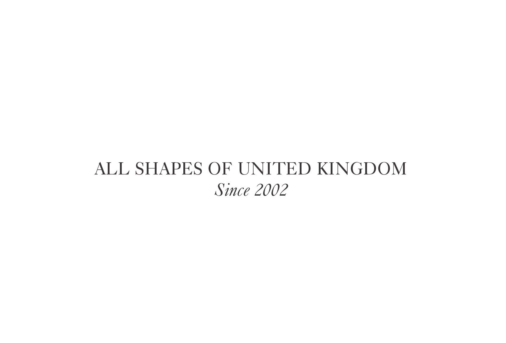 BURO: All shapes of United Kingdom