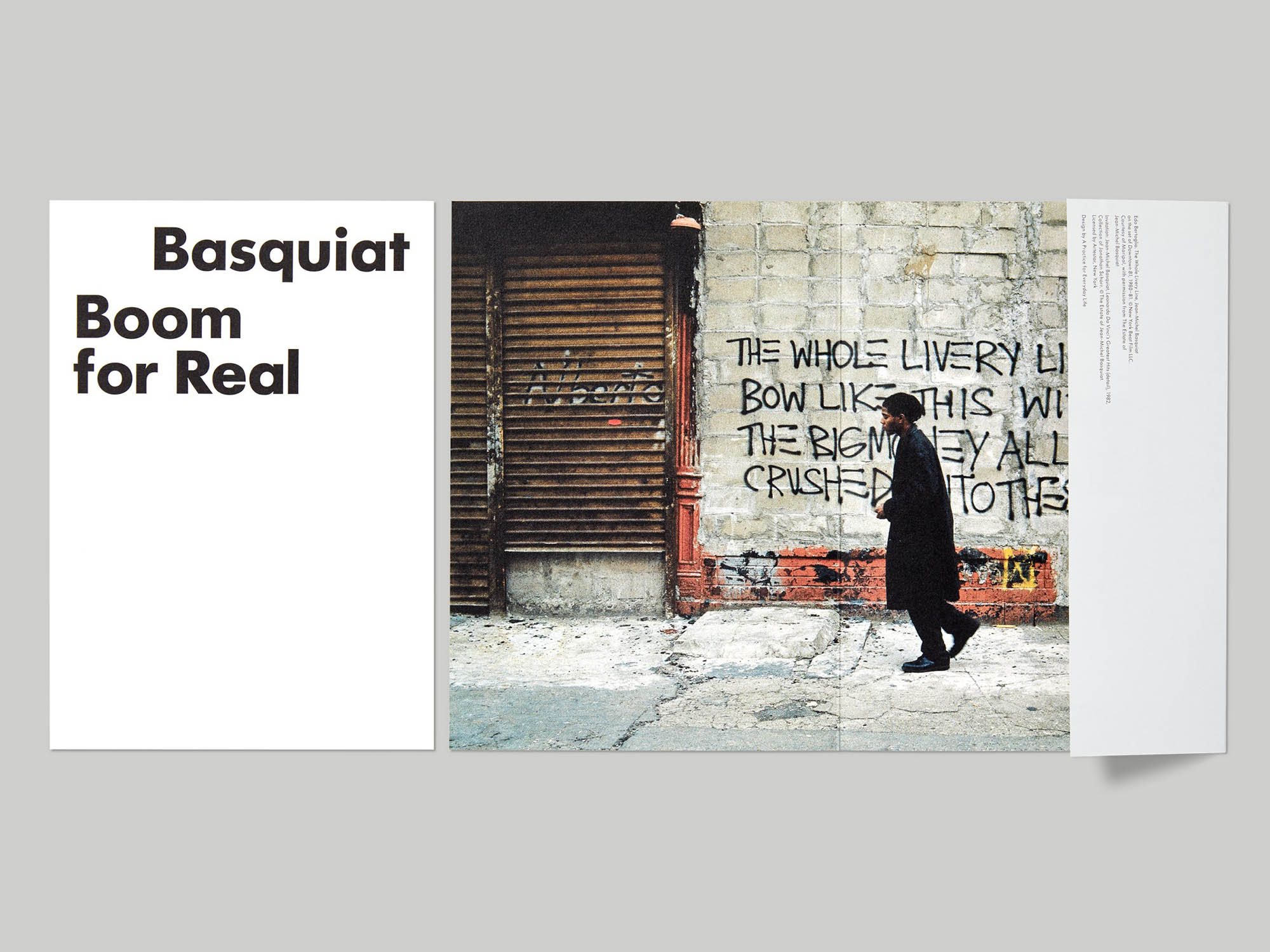 A Practice for Everyday Life: Basquiat, Boom for Real
