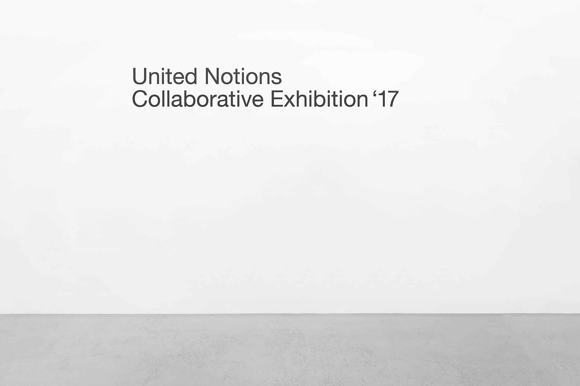 Yuta Takahashi: United Notions