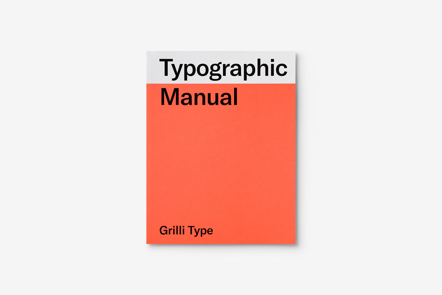 Typographic Manual by Grilli Type