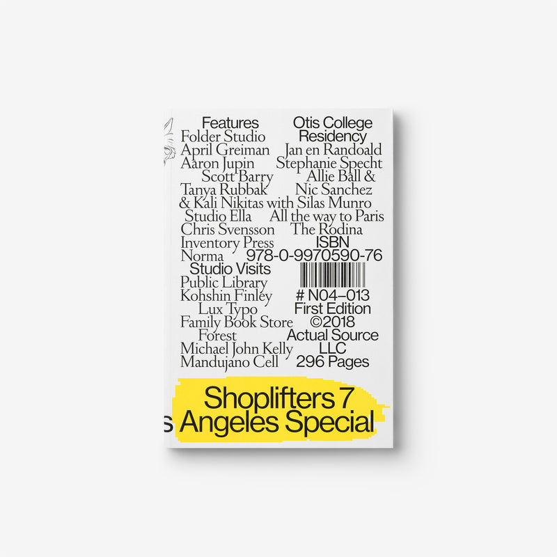 Shoplifters Issue 7: Los Angeles Special