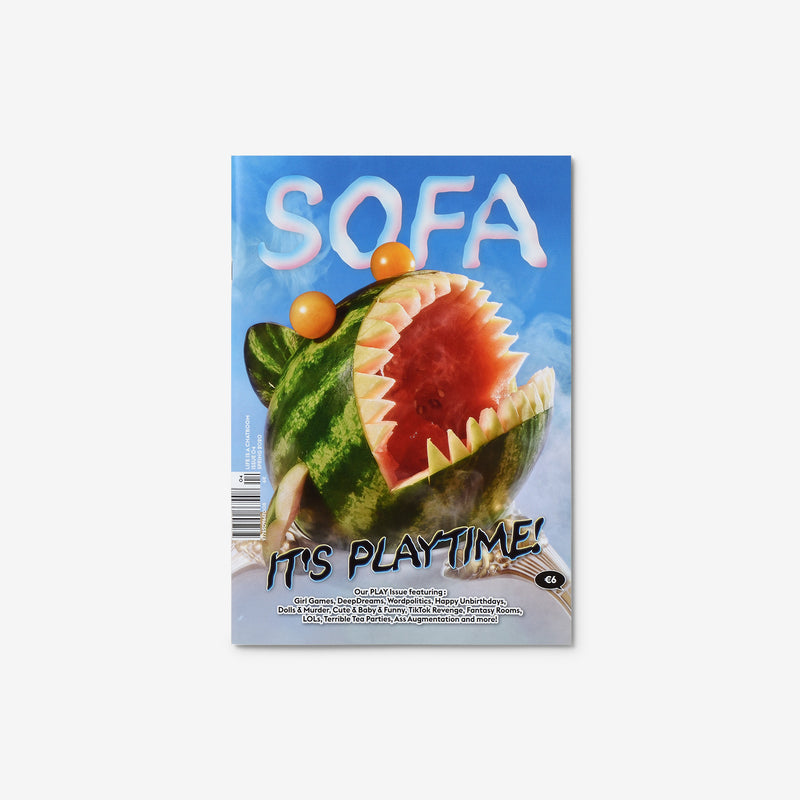 Sofa Issue 4: It's Playtime!
