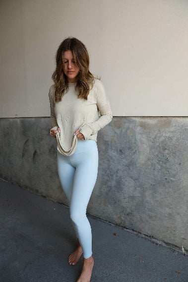 Delicate Long Sleeve and Baby Blue