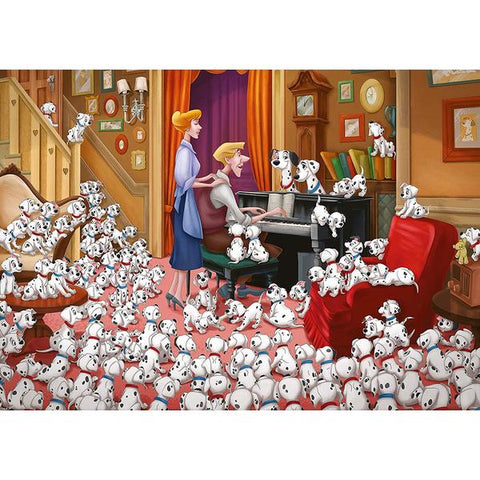 Ravensburger - Disney Moments 1961 101 Dalmations - 1000 piece