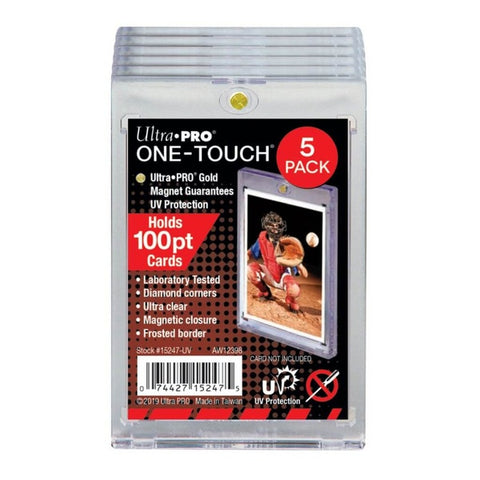 Ultra - Pro One Touch - 100PT magnetic closure 5 pack