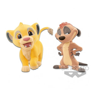 Lion King - Fluffy Puffy - Simba and Timon