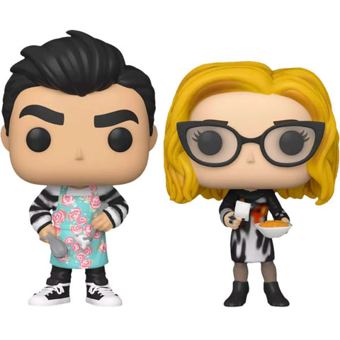 Schitt's Creek - Moira & David Cooking US Exclusive Pop! Vinyl 2-Pack [RS]