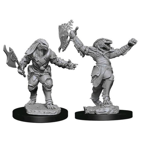 Dungeons & Dragons - Nolzur's Marvelous Unpainted Minis: Female Dragonborn Fighter