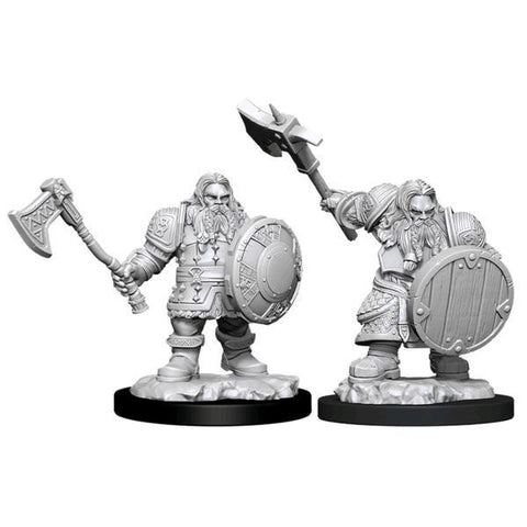 Dungeons & Dragons - Nolzur's Marvelous Unpainted Minis: Male Dwarf Fighter