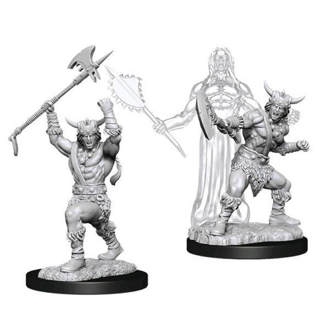 Dungeons & Dragons - Nolzur's Marvelous Unpainted Minis: Male Human Barbarian