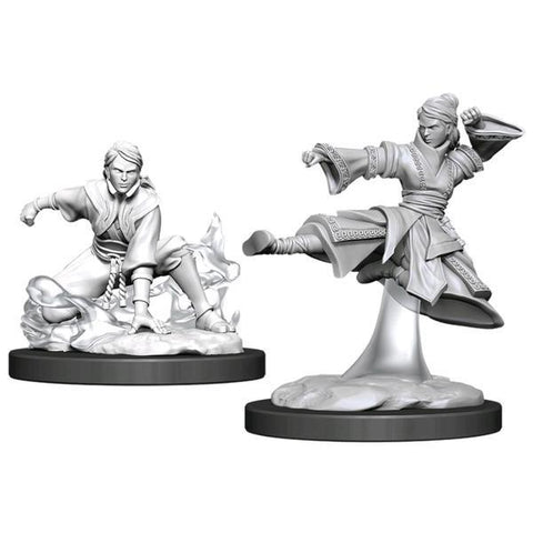 Dungeons & Dragons - Nolzur's Marvelous Unpainted Minis: Female Human Monk