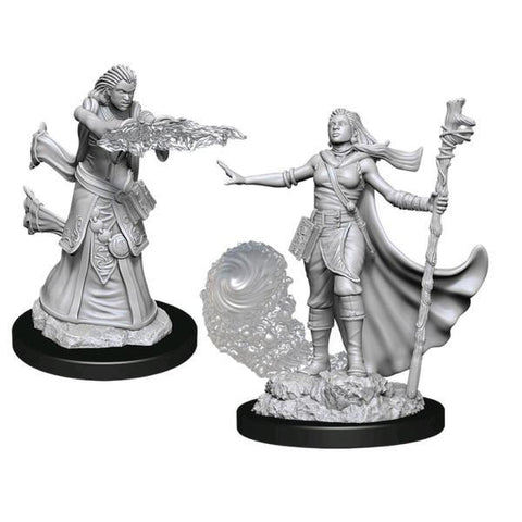 Dungeons & Dragons - Nolzur's Marvelous Unpainted Minis: Female Human Wizard