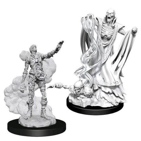 Dungeons & Dragons - Nolzur's Marvelous Unpainted Minis: Lich & Mummy Lord