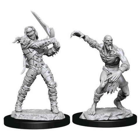 Dungeons & Dragons - Nolzur's Marvelous Unpainted Minis: Wight & Ghast