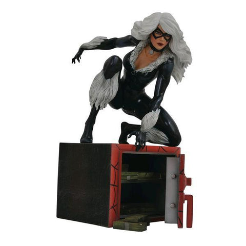 SpiderMan - Black Cat Gallery PVC Diorama