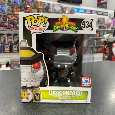 Image of Power Rangers Dragonzord 2017 fall convention