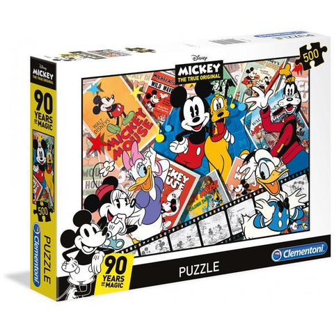 Clementoni Disney Puzzle Mickeys 90th 500 Pieces