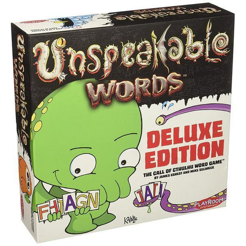 Unspeakable Words Deluxe Edition